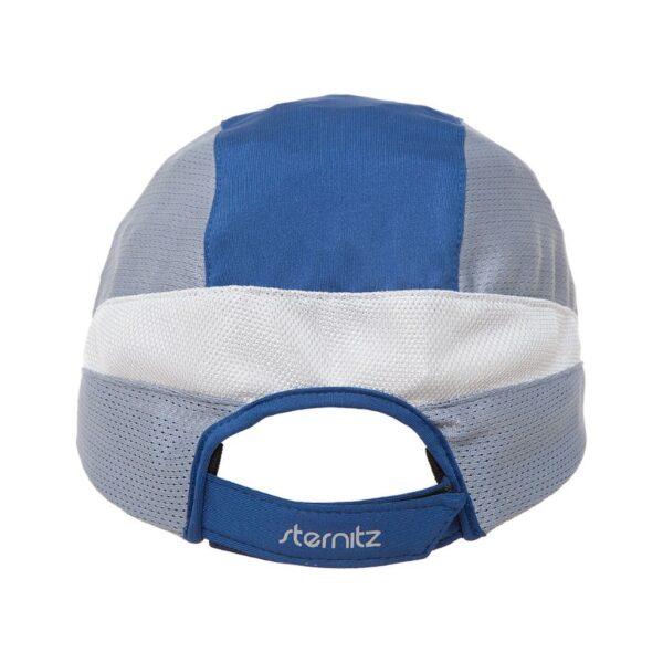 Gorra con visera unisex Sternitz Azul Gris trasera