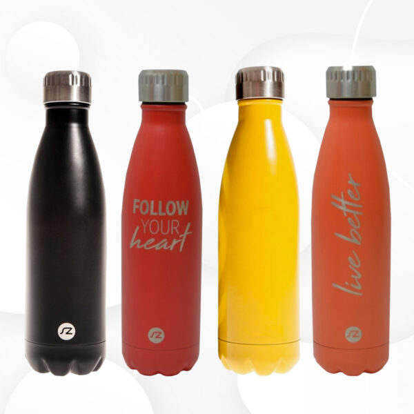 Botella de agua acero inoxidable frío / calor para agua y bebidas calientes Rebajas online iBlevel