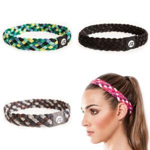 Accesorios gym cinta para el pelo trenzado y antideslizante distintos colores