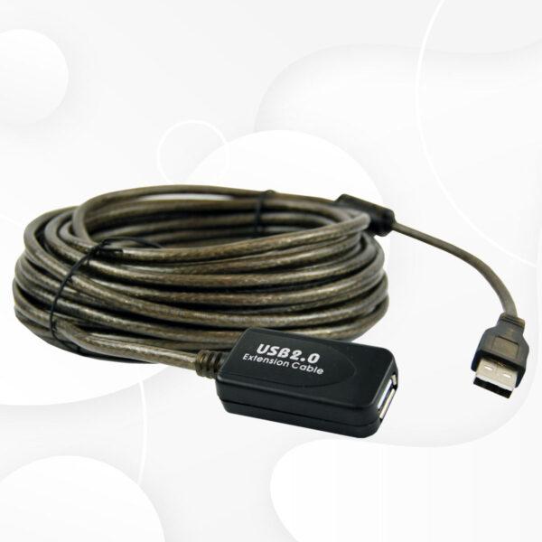 Cable USB 2.0 extensión 10 metros 480MBPS